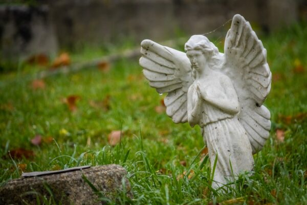 Tiny angel figure